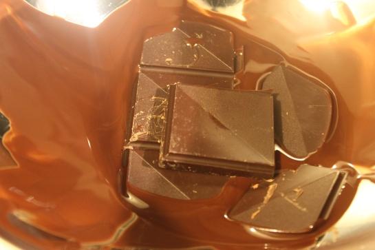 Schokolade Wasserbad