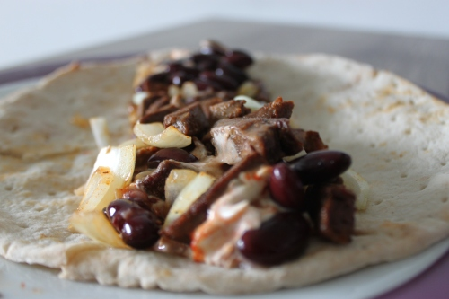 Steak Onion Wrap