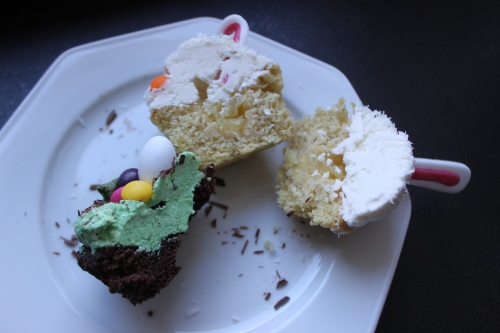 Cupcakes von innen