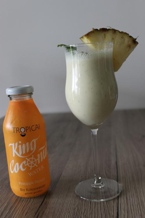Ananas Kokoskefir